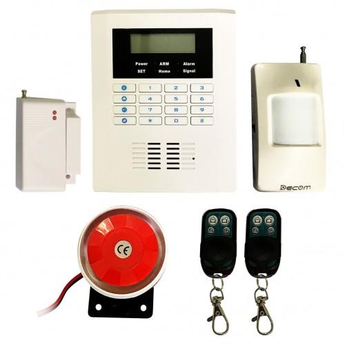Báo trộm qua điện dùng SIM - LINE