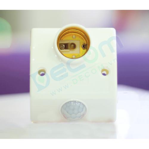 Đui đèn cảm ứng điều chỉnh thời gian  DC-069B (Chất lượng cao)