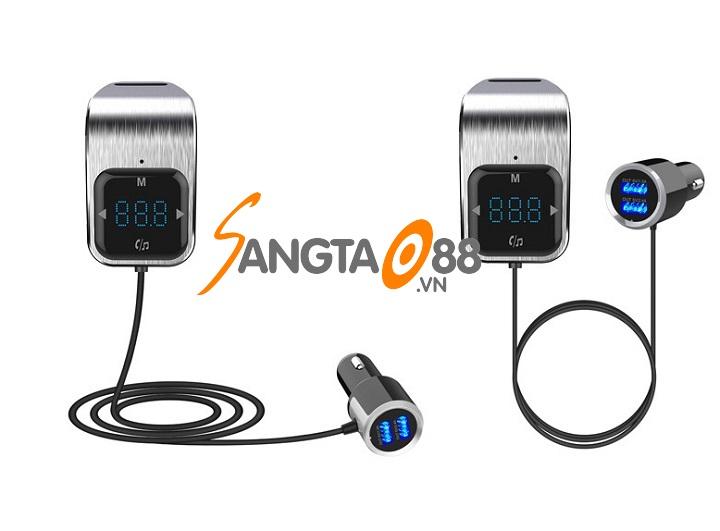 Bộ chuyển MP3 – FM trên ô tô có Bluetooth BC39