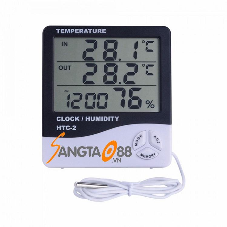 Máy đo nhiệt độ độ ẩm trong phòng Model HTC-2